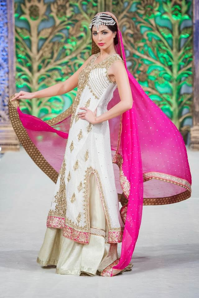 Bridal Punjamni  Wear 2014 by Ubaid Sheikh