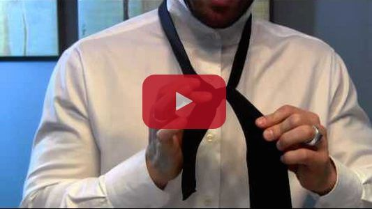 How To Tie A Tie Video