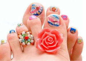 Latest Nail Art Design For Young Girls
