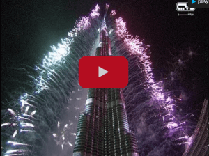New Year Celebration At Burj Khalifa Dubai Amazing Video