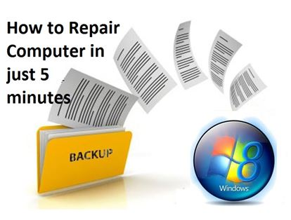 how to create and restore windows backup