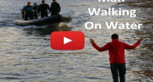 Amazing Video Talented Man Walking On Water