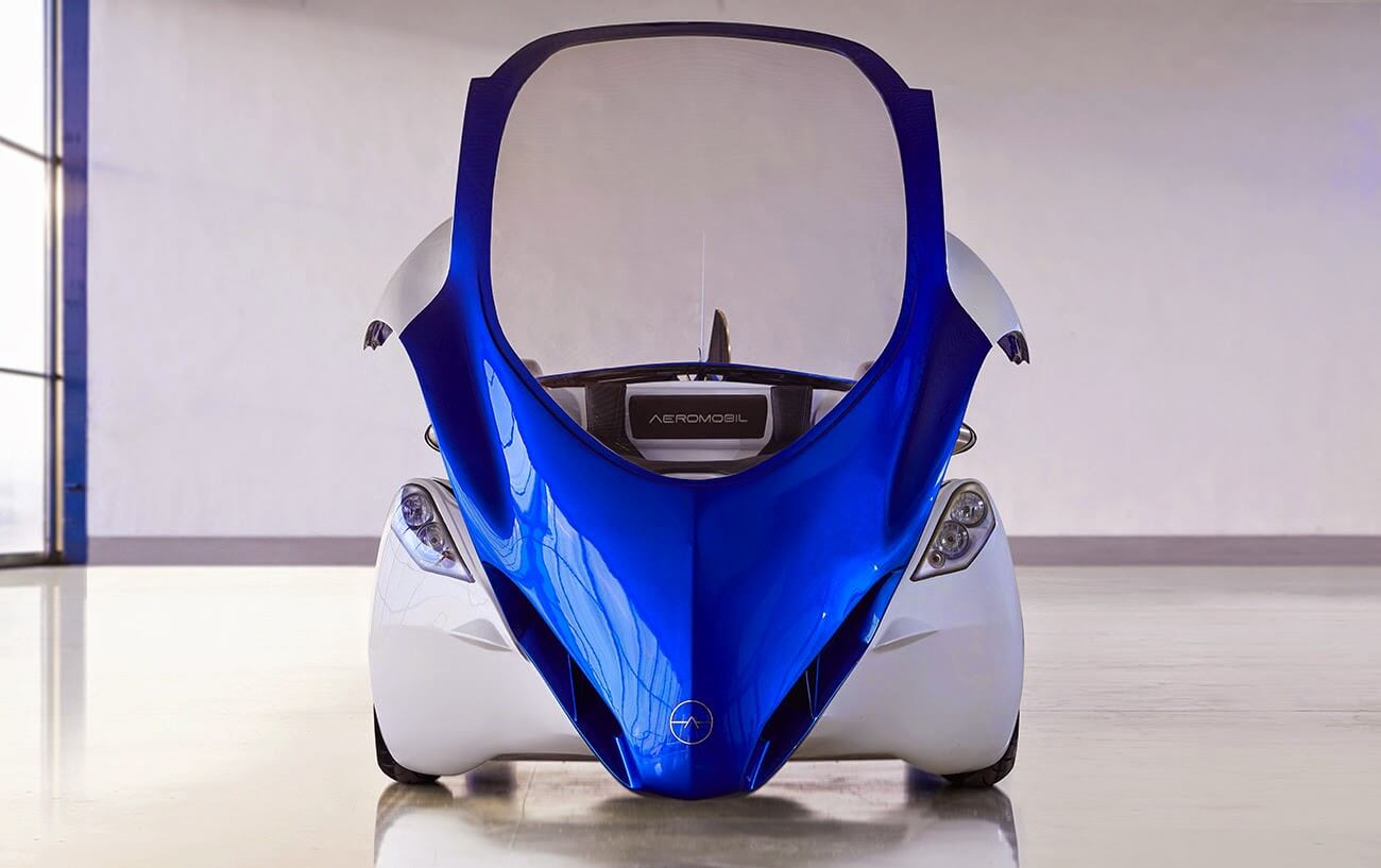 Advanced Prototype of the flying roadster AeroMobil 3.0