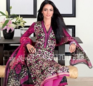 Gul Ahmad Latest Embroidered Summer Dress Designs