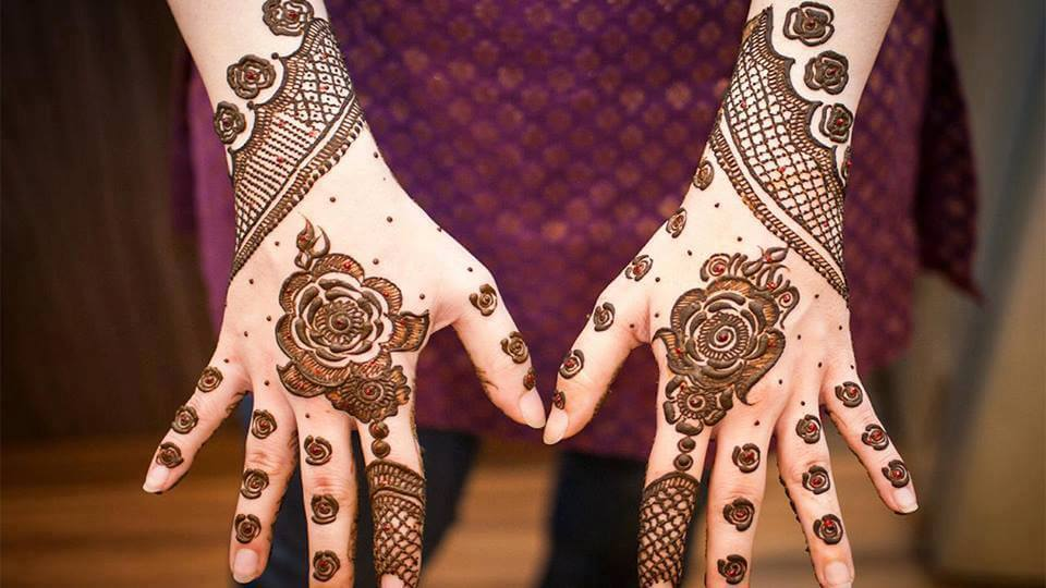 Mehndi Bridal Design Latest : Gujarati bridal mehndi designs best styles that stand out