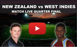 New Zealand Vs West Indies World Cup 2015 Quarter Final
