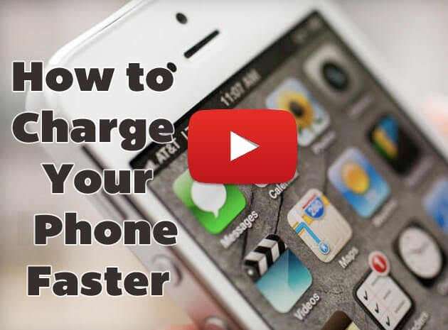 Charge Smart Phone Faster Amazing Video Tutorial