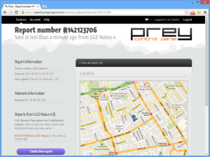 Amazing Trick to Tracking a stolen Android Phone with Prev