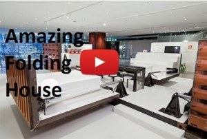 Watch Wonderful And Beautiful Folding House Video