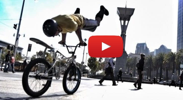 Most Wonderful Amazing Bicycle Tricks Video In Francisco