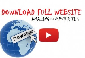 Download Any Website Full With HTTrack Website Copier