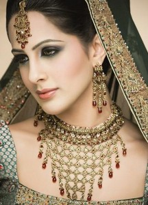 New Stylish Asian Bridal Gold Jewelary Collection 2015