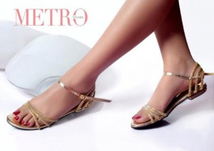 New Metro Summer Party Shoes For Young Girls 2015