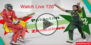 Watch Live T20 Pakistan Vs Zimbabwe Cricket Series 2015