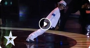 Michael Jackson performance by Kingsley
