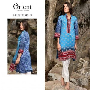 attractive orient textile collection, Printed Kurti Collection