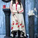 latest casual collection , cotton party outfits