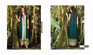 Lakhany Charlotte Collection Of Exclusive Eid Dresses by LSM Fabrics