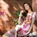 Women Embroidered Eid Dresses, Al Zohaib textile collection