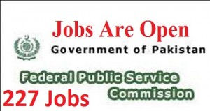 FPSC (227 Jobs),All over Pakistan jobs