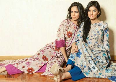 Swiss seasonal collection, Pakistani designer dresses
