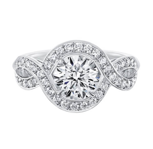 Diamond Rings Latest Collection for Girls Engagement
