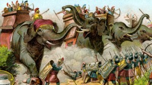 War Games Elephants in Total Asian History